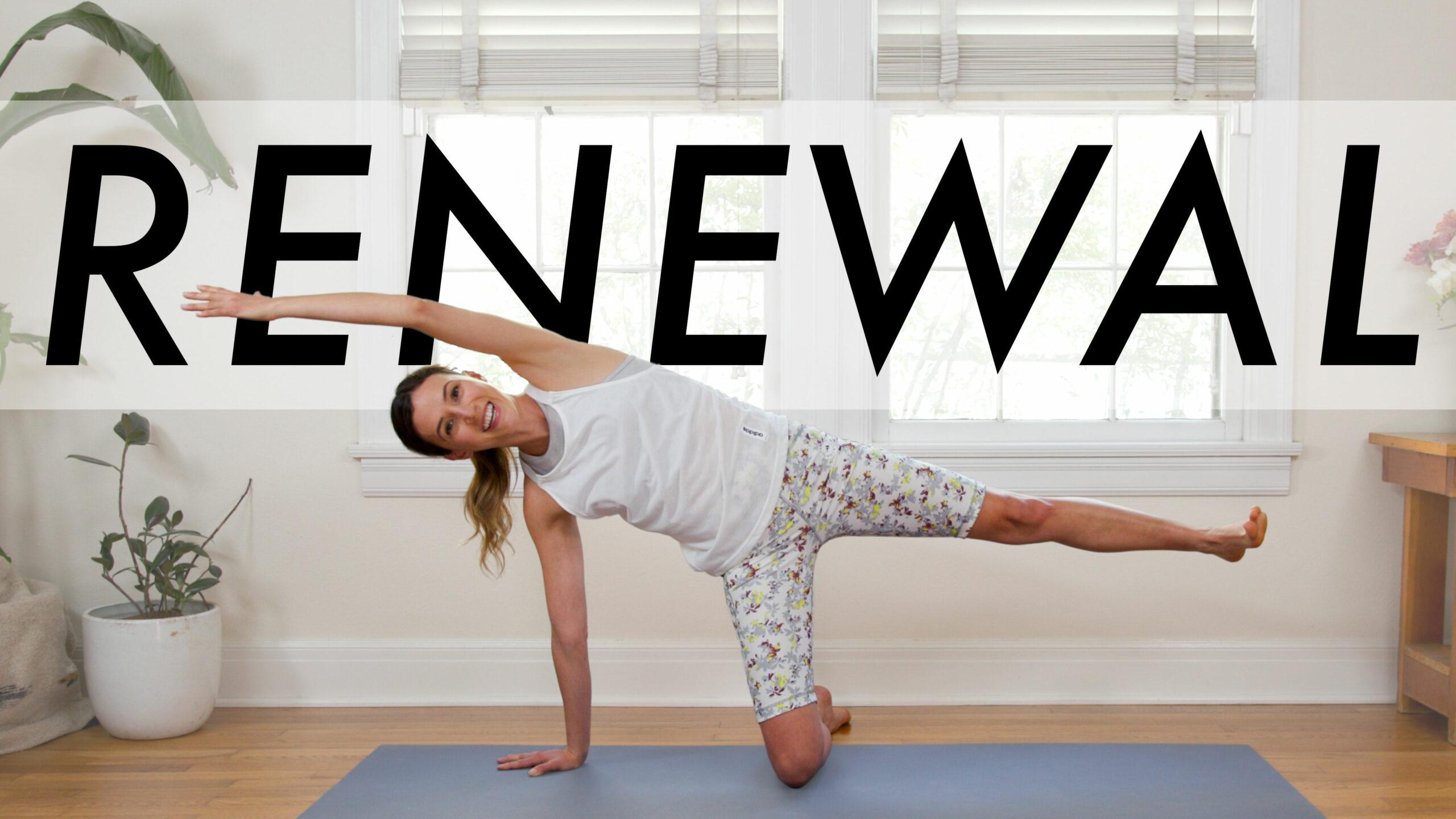 Yoga For Renewal - YouTube Video